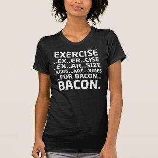 Bacon Logical Deduction T-Shirt