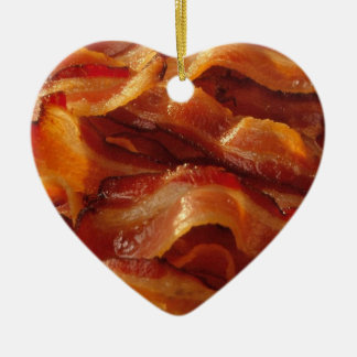 Bacon Love Ceramic Ornament
