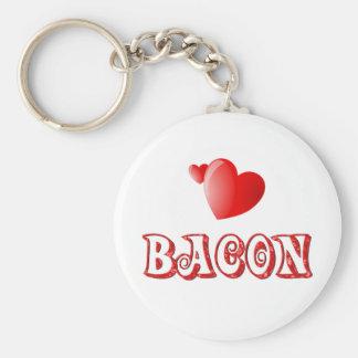 Bacon Love Keychain