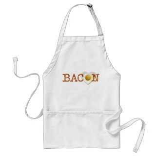 Bacon LOVE on sunny side up! Standard Apron