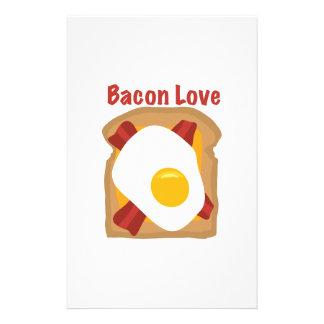 Bacon Love Stationery Design