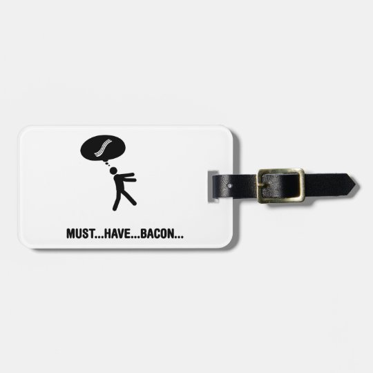 Bacon Lover Luggage Tag