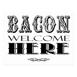 Bacon Lovers Gift Postcard