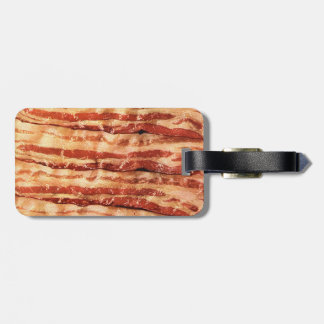 BACON luggage tag funny CHEF foodie