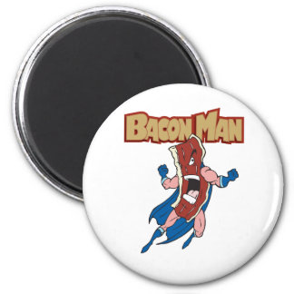 Bacon Man Magnet