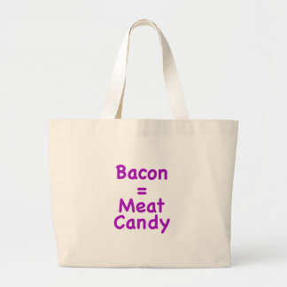 Bacon = Meat Candy Canvas Bag