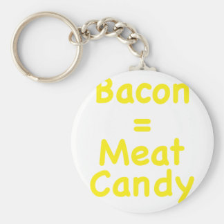 Bacon = Meat Candy Keychain
