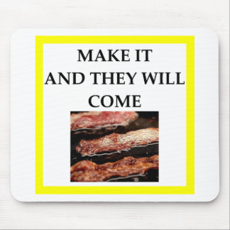 bacon mouse pad