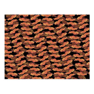 Bacon Pattern Postcard