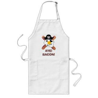 Bacon Pirate Long Apron