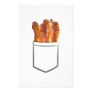 Bacon Pocket Stationery Paper