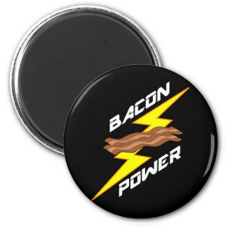 Bacon Power 2 Inch Round Magnet