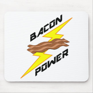 Bacon Power Mouse Pad