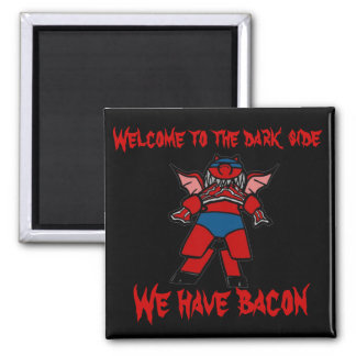 bacon power square magnet