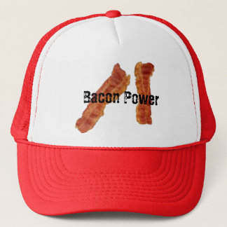 Bacon Power Trucker Hat