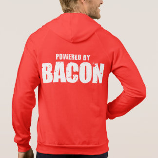 Bacon - Powered By Bacon Hoodie