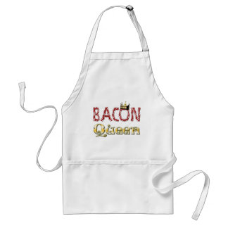 Bacon Queen with Crown Standard Apron