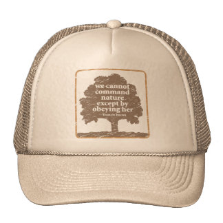 Bacon Quote About Nature Trucker Hat