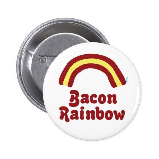 Bacon Rainbow Pins