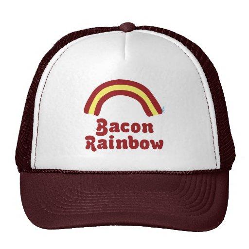 Bacon Rainbow Trucker Hat