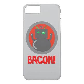 Bacon Robot iPhone 7 Case