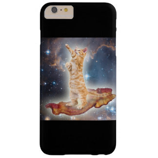 Bacon Space Kitty iPhone 6 Plus Case
