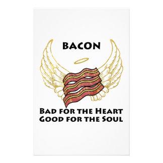 Bacon Custom Stationery