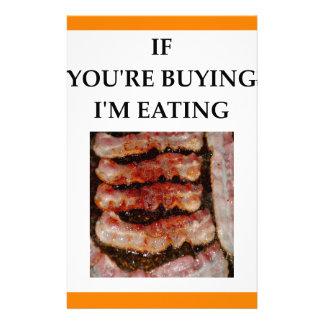 bacon stationery