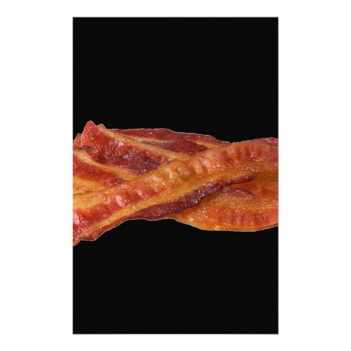 """Bacon"" Stationery Design"