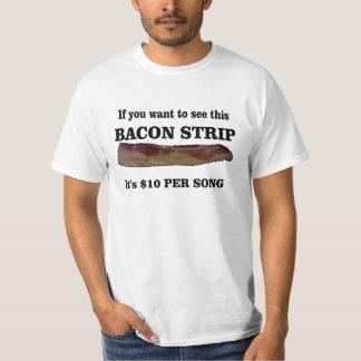 Bacon strip tees