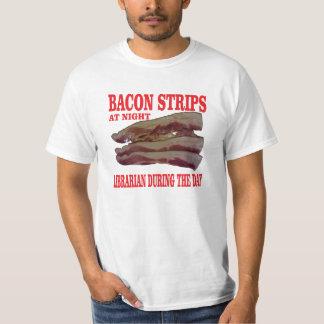 Bacon strips t shirt