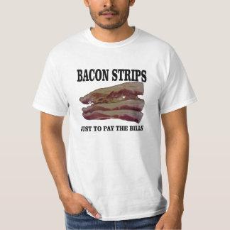 Bacon strips tshirts