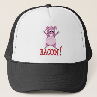 BACON! TRUCKER HAT