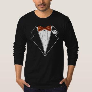 Bacon Tuxedo Bow Tie T Shirt