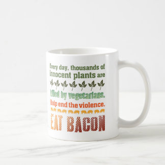 Bacon Vegetarian Coffee Mug