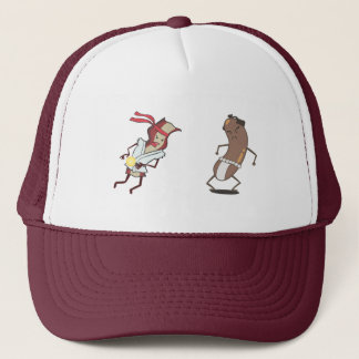 Bacon vs Sausage Hat