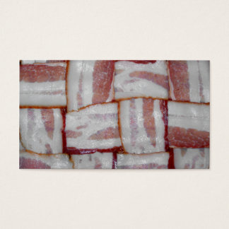 Bacon Weave Business Card