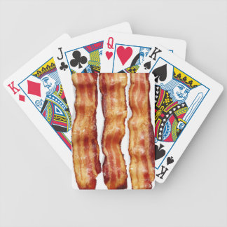 Bacon- yum yum! bicycle playing cards