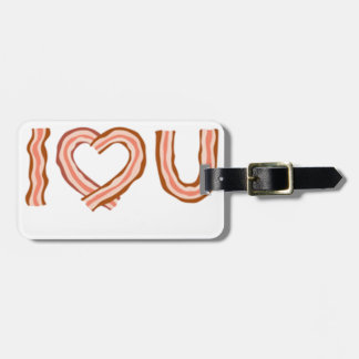 BACONS LUGGAGE TAG
