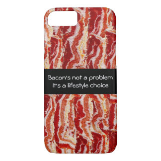 Bacon's Not A Problem Case-Mate iPhone Case