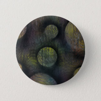 Bacteria enmeshed 2 inch round button
