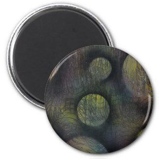 Bacteria enmeshed magnet