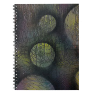 Bacteria enmeshed notebook
