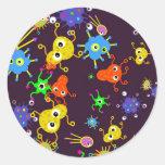 Bacteria Wallpaper Stickers