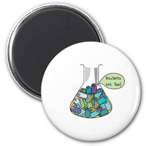 Bacterial Culture 2 Inch Round Magnet