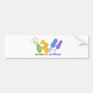 Bacterial Friends Bumper Sticker