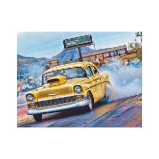 Bad 1955 Chevy Canvas Print