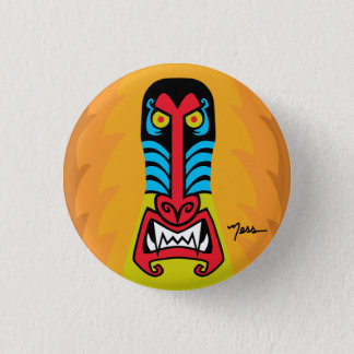 BAD ASS BABOON 1 INCH ROUND BUTTON