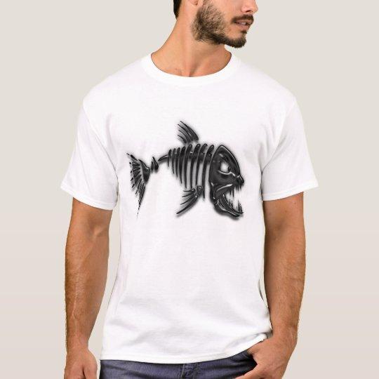 Bad attitude tribal fish t shirt