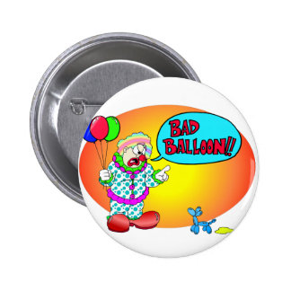 Bad Balloon 2 Inch Round Button